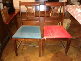 Pair of vintage chairs.