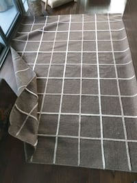 brown and white area rug Toronto, M5A 3C4