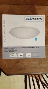 """Round 11"""" Dimmable LED Ceiling Light - Never Used - OBO Vancouver, V6E 1R3"""