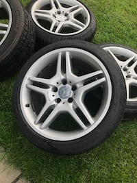 5x112 OEM 18inch Wheels + Tires ! Great condition ! Priced to sell / Ready to mount and go!! Mercedes AMG Kensington, 20895