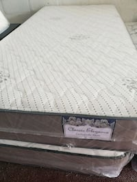 white and black bed mattress Opa-locka