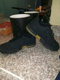 pair of black high top sneakers San Antonio, 78210