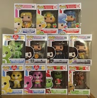 Care Bear, Grinch, Bob Ross Funko Pops Cambridge, N1P 1A5