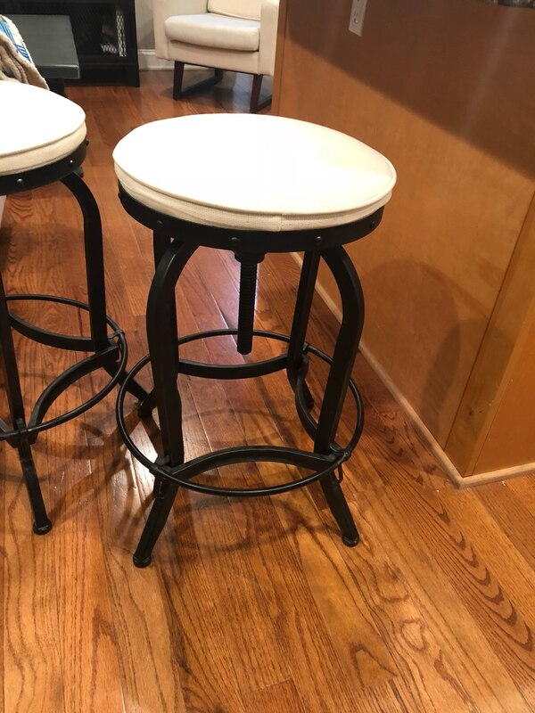 Nice Industrial bar stools