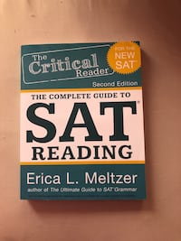2018-2019 SAT READING PREP BOOK Germantown, 20876
