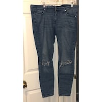 Size 18 jegging ripped knee (bought like that/designed like that) Columbus