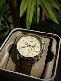Fossil Brown Leather Watch Gainesville