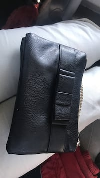 Black leather Small bag