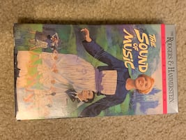 VHS Tapes The Sound Of Music