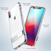 Funda Para iPhone X/XS/XS MAX Transparente  Barcelona, 08031
