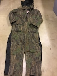 Black and green camouflage coveralls Gaithersburg, 20878