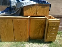 4 cabinets good condition $30 for all 4 Modesto, 95354
