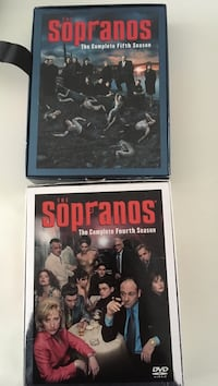 The sopranos::: complete fourth & fifth seasons box sets . $10 each Brampton, L6S 2Z5
