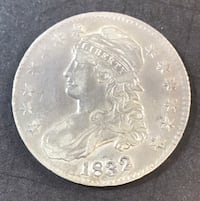1832 Capped Bust Half XF