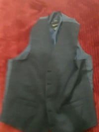 black and gray button-up vest 536 km