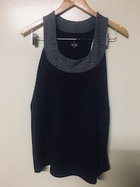 women's gray scoop-neck sleeveless top Fairview, 17070
