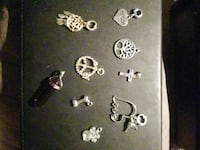 silver and gold earrings lot Oklahoma City, 73159