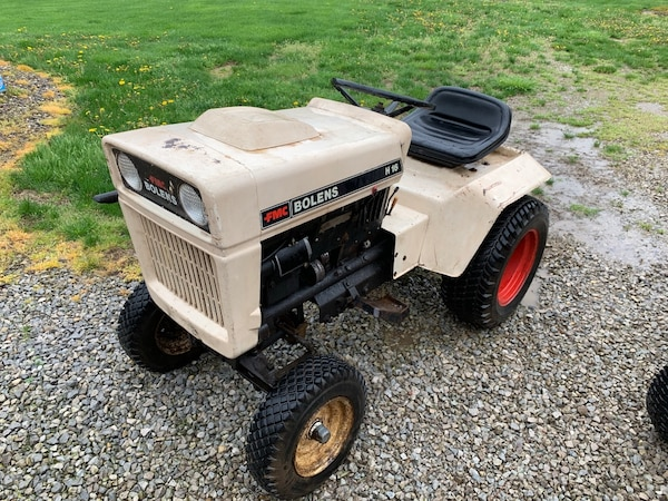 """41"""" Plow & Rototiller and FMC Bolens Lawn Tractor"""