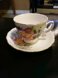 Royal Vale Teacup and Saucer - $30 obo St. Catharines, L2N 2Z1
