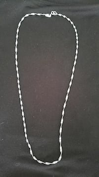 """""""Vintage"""" silver chain- hand made"""