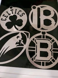 Stainless steal wall decor sports