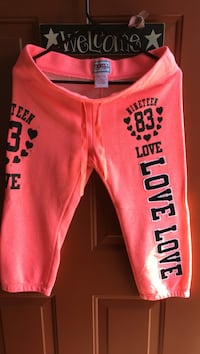Pink and black pink Thrill short pants