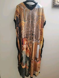 women's brown and black floral dress Edmonton, T5A 2N9