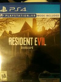 Resident evil 7 ps4 Pleasant Hills