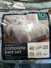 white and gray comforter set Springfield, N0L 2J0