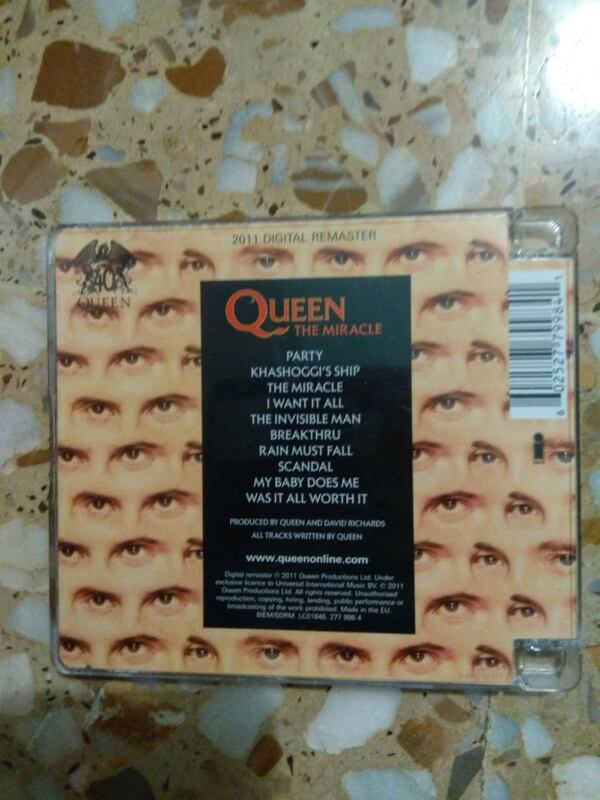 CD QUEEN THE MIRACLE fb93fa74-2d75-4b18-8dfb-7feae2d70e40