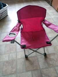 Pink kids chair folds up works great Nashua, 03064