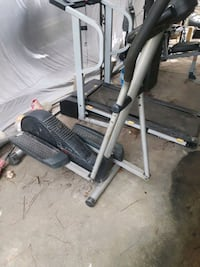 gray and black elliptical trainer Mobile