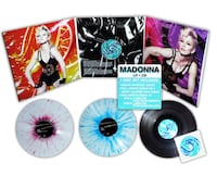 MADONNA HARD CANDY SWIRLED COLORED VINYL SEALED AND FAN-CLUB EXTRAS !!! Kansas City, 64109