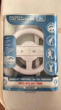 Wii Play & Drive Soft Sports    Newest & never open Falling Waters, 25419