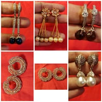1 gm gold plated earings  Solna