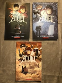 Amulet Books (3 in total) Vaughan