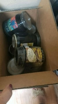 FREE candle jars for a crafts