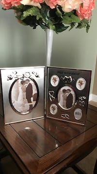 Beautiful  Silver Double Wedding Frame Gainesville, 20155