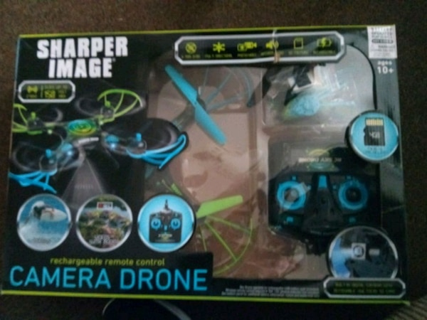 Used Sharper Image Rechargeable Remote Control Drone For Sale In