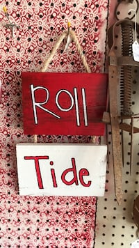 Roll and Tide sign Wedowee, 36278