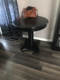 Solid wood entry table Edmonton, T6J