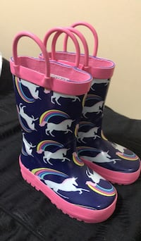 Lightly used Size 6 BabyGirl Rain Boots Toronto, M6N 4T6