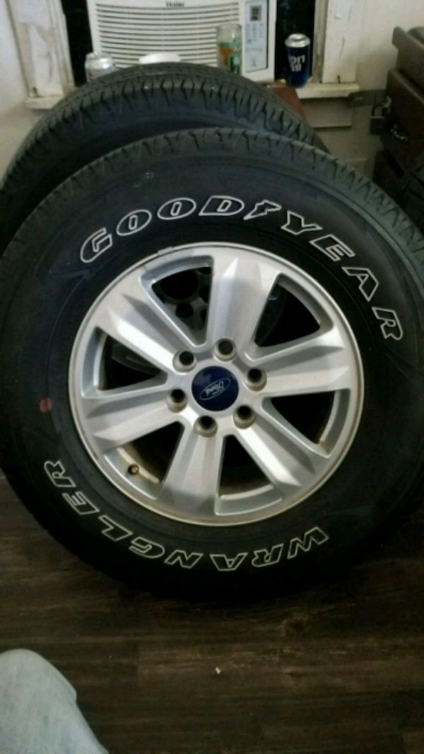 Ford 17in rims and tires