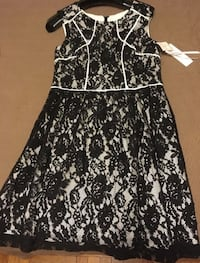 Black and white floral lace dress Toronto, M8V 1E5
