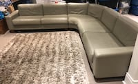 Leather sectional couch Toronto, M8V 3C3