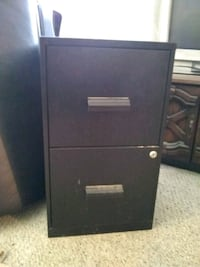 black 2-drawer filing cabinet Imperial Beach, 91932