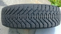 Winter Tires on rims 185/65/15 Laval