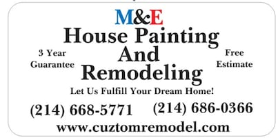 M&E House Painting And Remodeling