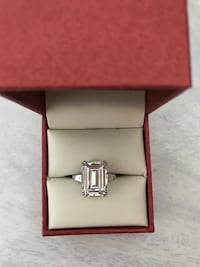 8 Carat Ring Moissanite  Markham