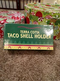 Taco shell holder - Terra Cotta Phenix City, 36867